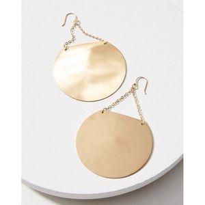 Anthropologie Serefina Gong Drop Earrings